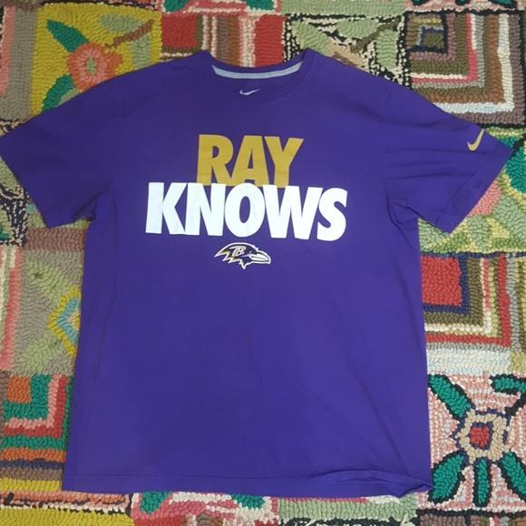 c081de46 Nike Shirts | Vintage Ray Knows Baltimore Ravens T Shirt Xl | Poshmark